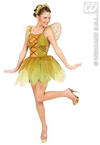 Widmann wdm58171-Kostüm für Erwachsene Fee der Wälder goldfarben, grün, S