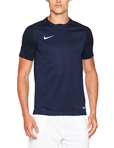 new concept b8149 a7631 Nike Trophy III Jersey Shortsleeve, T-Shirt Uomo, Midnight Navy Dark  Obsidian