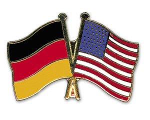 Yantec Freundschaftspin Pin Deutschland USA