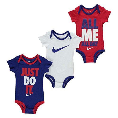 Nike Nike Baby Jungen (0-24 Monate) Spieler 3 Pack Multicoloured 0-6 Monate
