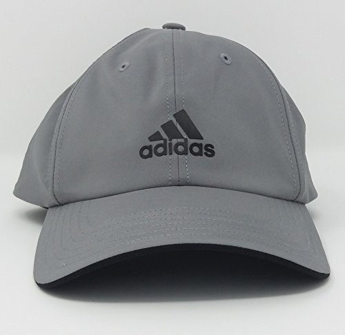 adidas Mens Golf Sports Cap Baseball Hat (Grey)