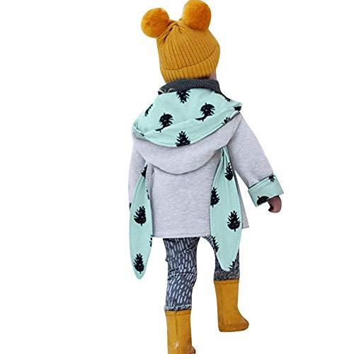 Apparel bambine e ragazze,meibax orecchie di coniglio cappotto con cappuccio dei neonati della manica lunga camicie pullover top con cappuccio,felpe stampato outfit,bambino infantile 6-24 mesi
