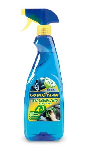 Goodyear 77806 Cera Liquida Auto, 4 In1, 750 ml