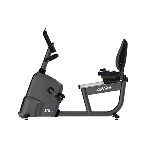 Life Fitness RS3 Lifecycle Liegeergometer mit Go-Konsole, RS3 -