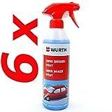 6 Würth Biologisch Abbaubar Super Enteiser-Spray Scheiben-Enteiser 0892331201