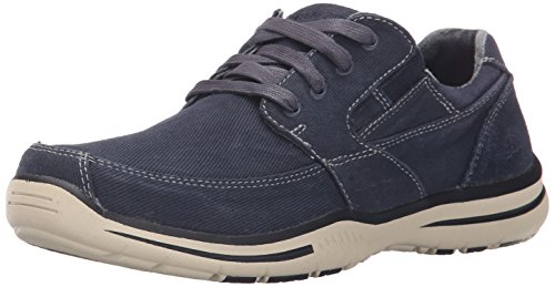 Skechers Usa Ã?lu Fultone lacets Oxford Sneaker Navy