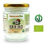 Huile de Coco Extra Vierge 200 ml - Crue et Pressée à Froid - Pure et 100% Bio -...