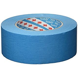 3M Scotch® 3434 Blaues Elastikband 110°C, 50mm x 50m, 07899