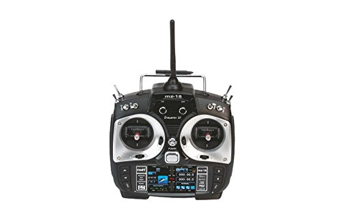 Graupner S1005.77.DE - transmisores Individualmente MZ-18 Accesorios HoTT, 9 Canales