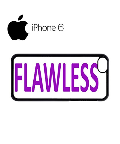 Flawless Funny Hipster Swag Mobile Phone Case Back Cover Hülle Weiß Schwarz for iPhone 6 White Schwarz