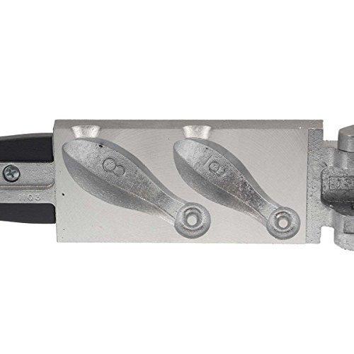 Do-It Bank Sinker Mold Assorted Sinker Sizes by Do-It Molds