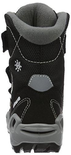 Lowa Milo Gtx Hi, Chaussures de Randonnée Hautes Mixte Enfant Noir (schwarz/hellgrau)