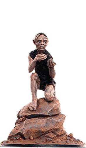 Lord of the Rings Señor de los Anillos Figurine Collection Nº 95 Gollum 1