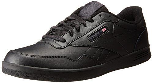 Reebok , Herren Mokkasins schwarz/grau DHG (4e Breite Schuhe)