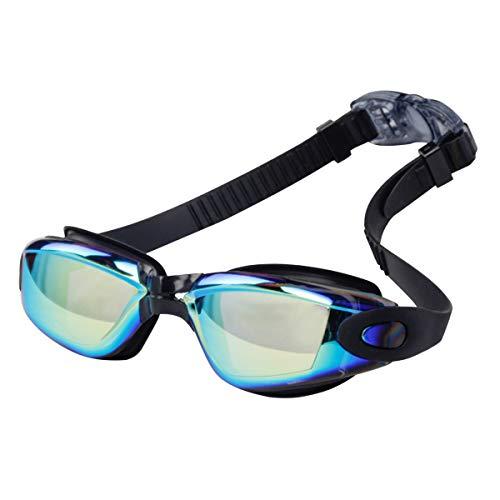 Coolzon® Schwimmbrillen für Erwachsene, Anti-Fog Schwimmbrillen Keine Undichten Stellen und UV-Schutzbrille für Männer und Frauen