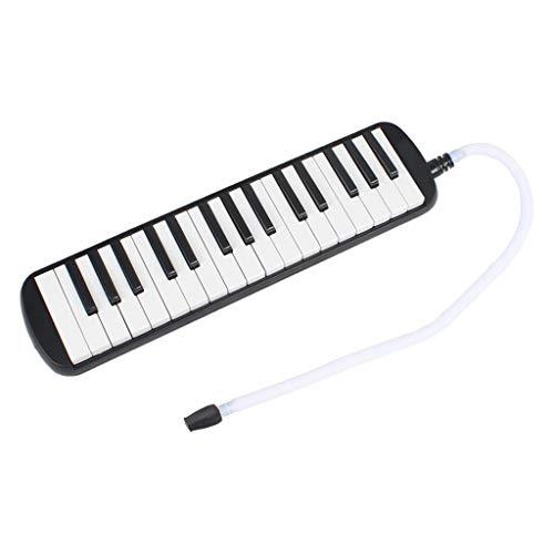 Sharplace 32 Tasten Melodika/Melodica Instrument für Kinder, mit Anblasschlauch, Mundstück, Tuch und Tragetasche