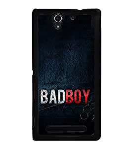 Bad Boy 2D Hard Polycarbonate Designer Back Case Cover for Sony Xperia C3 Dual :: Sony Xperia C3 Dual D2502