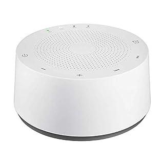 AVANTEK Einschlafhilfe WN-2C | Geräuschgenerator zur Geräuschunterdrückung durch weißes Rauschen (White Noise) und beruhigenden Umgebungsgeräuschen für einen erholsamen Schlaf (Weiss)