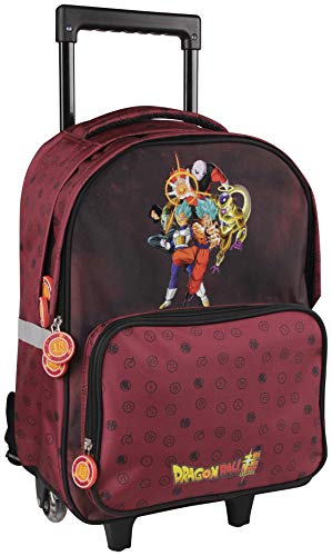 Clairefontaine Dragon Ball Estuches, 47 cm, Rojo (Bordeaux)
