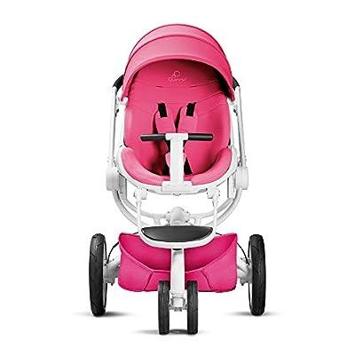 Quinny Moodd Kinderwagen, mit automatischer Aufklappfunktion, Ruheposition in beide Fahrtrichtungen, modernes Design, ab der Geburt bis ca. 3,5 Jahre