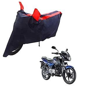 Mototrance Sporty Arc Blue Red Bike Body Cover for Bajaj Pulsar 150