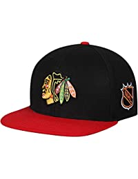 13fba6918c879 American Needle Blockhead 2 NHL Team Flat Brim Hat (43732A-NHL-Parent)