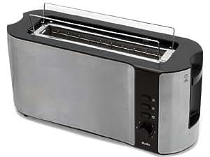 luxus design edelstahl toaster langschlitz toaster inklusiv br tchenaufsatz. Black Bedroom Furniture Sets. Home Design Ideas