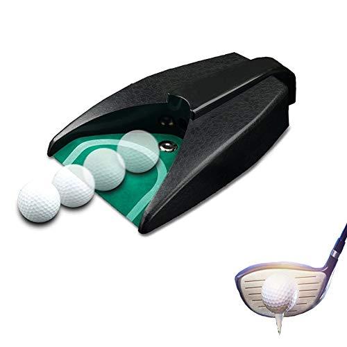 Kegiit Golf Automatischer Putting-Cup Rückgabemaschine Training Training Training für Outdoor Garten Rasen