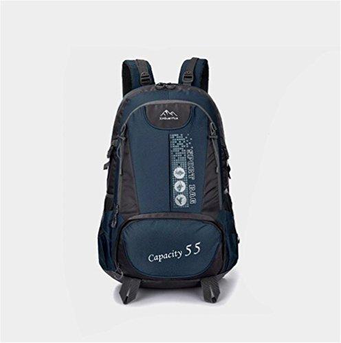 Wmshpeds Alpinismo Outdoor bag men borsa da viaggio 55L borsa a tracolla coreano femminile borsa sportiva viaggio di piacere nello zaino E