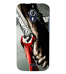 ColourCraft Knife Design Back Case Cover for MICROMAX CANVAS MAGNUS A117
