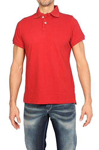 abercrombie-fitch-mens-polos-muscle-fit-red-m