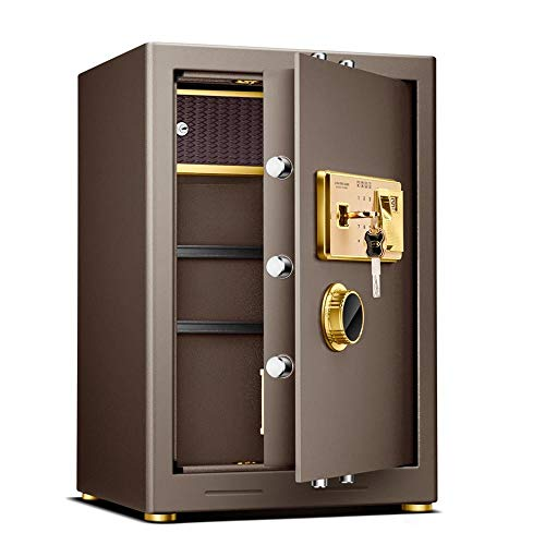 Zavddy-OP Caja Fuerte Extra-Grande electrónico Acero Seguro con el Teclado y la Huella Digital de desbloqueo...