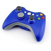 Stoga STB02 Xbox 360 Controller Xbox 360 Wireless Controller neue drahtlose entfernten Pad-Game-Controller f¨¹r Microsoft Xbox 360 PC Windows 7 XP Whit Joypad-blau