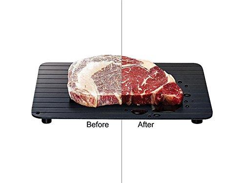 yter Thaw Abtauen Tablett Schnell Auftauen Teller Abtauung Thaw Tiefkühlkost Fleisch in Minuten
