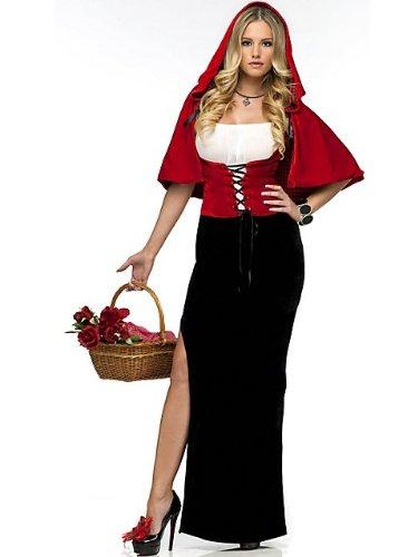 Sexy Red Riding Hood Kostüm ()