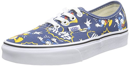 Vans U AUTHENTIC DISNEY, Unisex-Erwachsene Sneakers, Mehrfarbig (disney/donald -