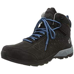 Jack Wolfskin Cascade Hike Lt Texapore Mid M, Scarpe da Arrampicata Alta Uomo, Grigio (Phantom/Blue 6354), 43 EU