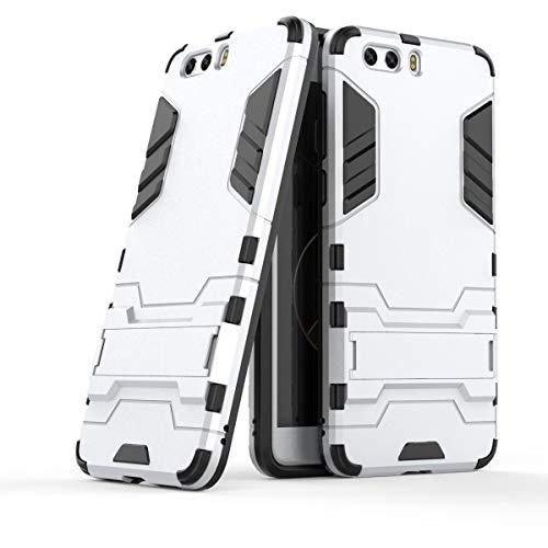 Sangrl Handyhülle Für ZTE Nubia Z17 Mini S, [2 in 1 und Halterung Design] Dual Layer Schutzhülle Stoßfeste Anti-Scratch case Hülle Für ZTE Nubia Z17 Mini S - Silber