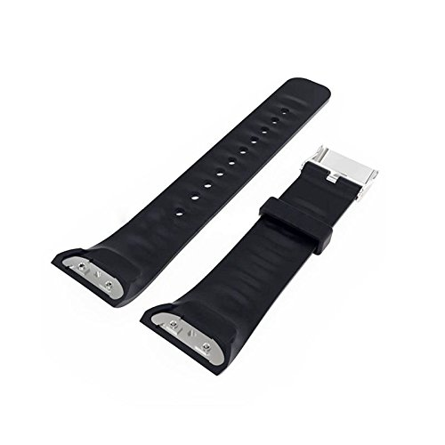 SODIAL(R) For Samsung Gear Fit 2 SM-R360 Silicone Replacement Wrist Band Strap Bracelet