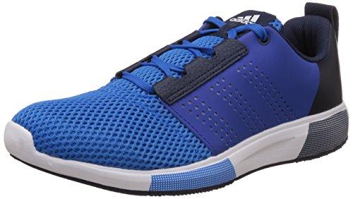 adidas Herren Madoru 2 M Laufschuhe Blau (Shock Blau/Colegiate Navy Blau/weiß/schwarz)