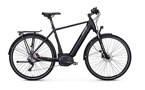Kreidler Vitality Eco 8 E-Bike Bosch Performance CX E-Bike E Trekking (Schwarz, 21.5 Zoll (55 cm)) Damen Tiefeinsteiger
