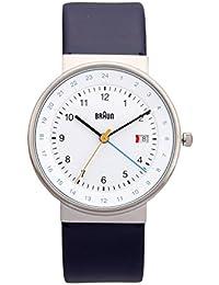 Braun Unisex-Armbanduhr BN0142WHBLG Analog Quarz Leder 66556
