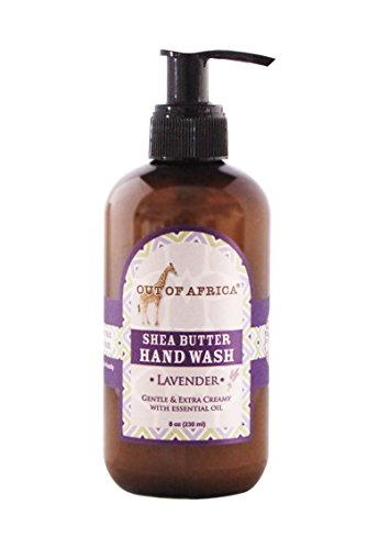Out Of Africa Hand Lotion with Organic Shea Butter Lavender -- 8 fl oz by Out of Africa