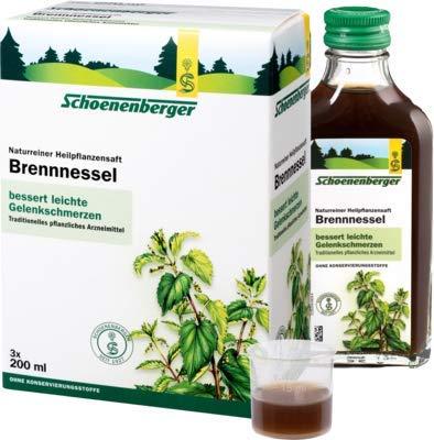 Brennesselsaft Schoenenbe 3X200 ml