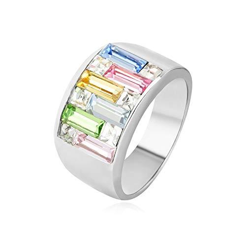 ing Männer Cz Diamant Ring Gold Weiß Größe 54 (17.2) ()