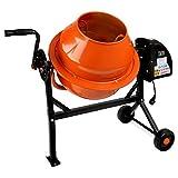 EBERTH betoniera per malta e calcestruzzo con tamburo da 65 litri
