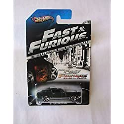HOT WHEELS 2013 FAST AND FURIOUS - Ford Mustang Exclusive en verde 1967 4/8 hierro fundido 1:64