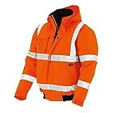 teXXor–Giacca catarifrangente Pilot Whistler impermeabile, antivento giacca da lavoro, Arancione, 4119