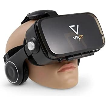 c32431064e5 VRIT V2 the Top VR Smartphone Headset Set - 3D Virtual Reality Glasses with  built in