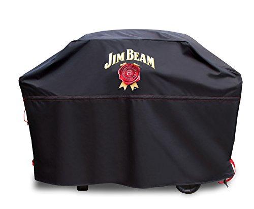 Jim Beam Premium-Grillabdeckung V2.0 S/M JB0303, Schwarz